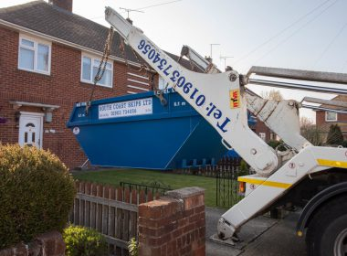 domestic skip delivery