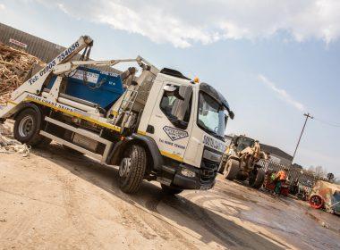 south coast skips lorry