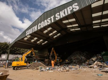 south coast skips waste management site