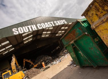 south coast skips recycling site