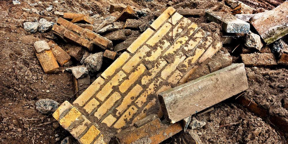 bricks to dispose of