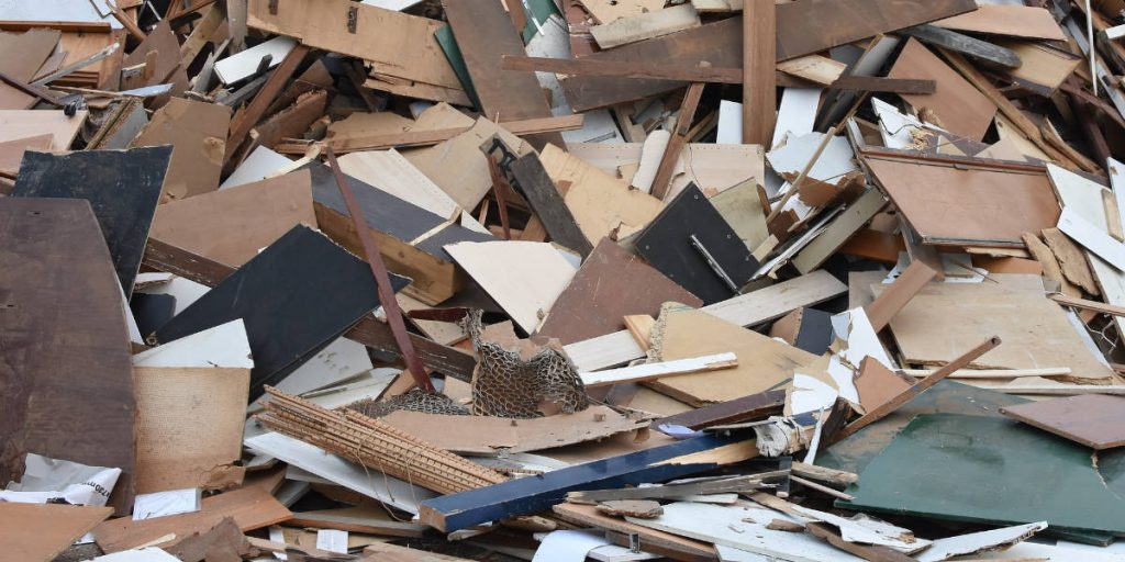how is timber recycled
