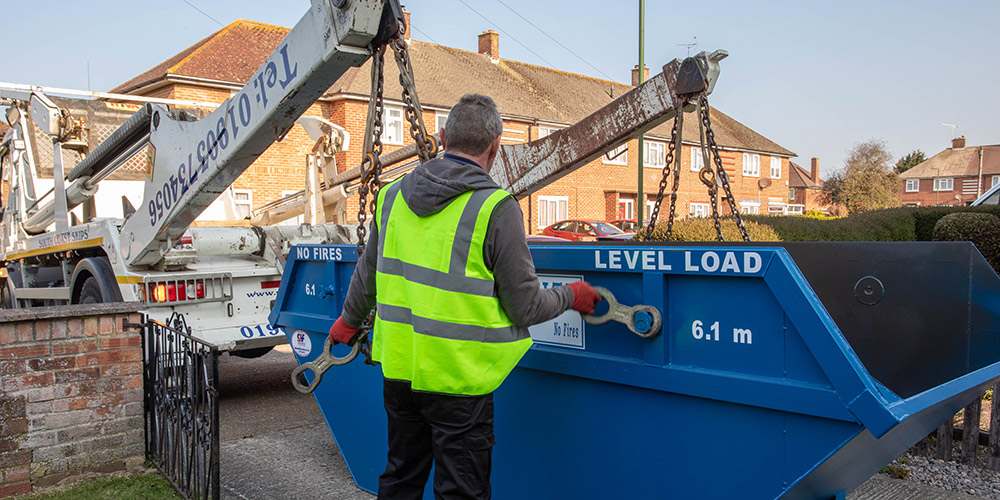 how to load a skip correctly