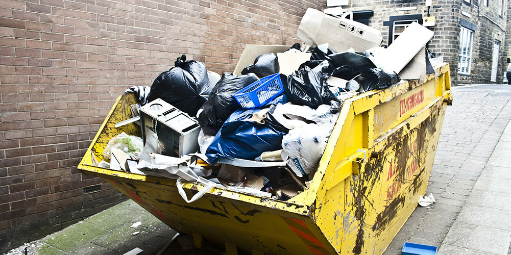 what can you put in a skip